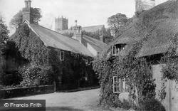 Godshill, The Village And All Saints Church c.1890