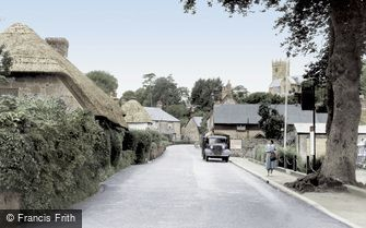 Godshill, the Village c1950