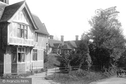 Godstone, Almshouses And Sand Lane 1895