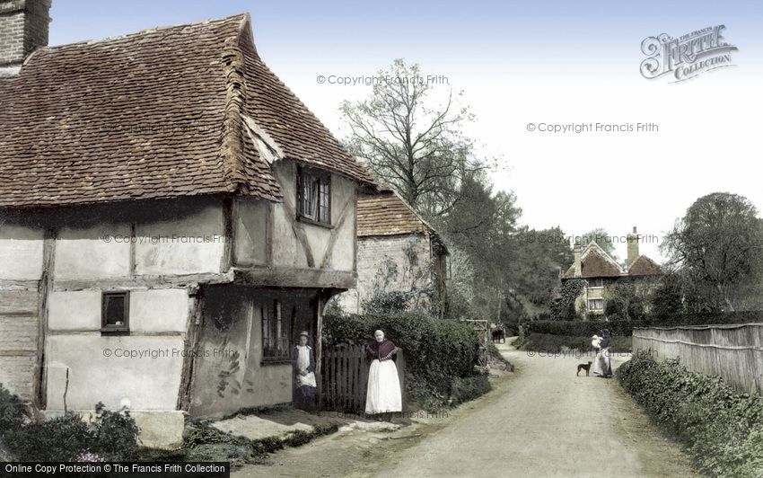 Godstone, Church Lane 1905