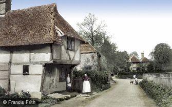 Godstone, Church Lane 1905