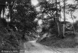 Godstone, Church Lane 1907