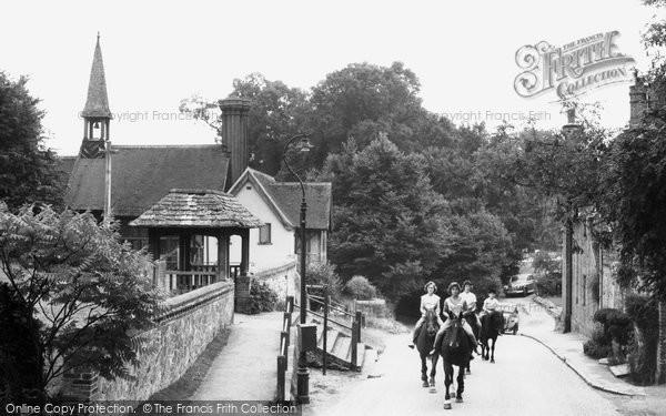 Photo of Godstone, Church Lane c.1965