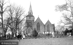 Godstone, Church Of St Nicholas 1886