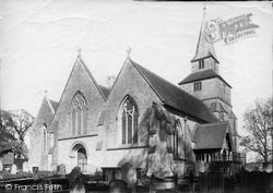 Godstone, Church Of St Nicholas 1895