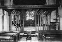 Godstone, Church Screen 1909