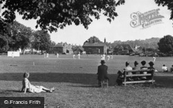Godstone, Cricket On The Village Green c.1955