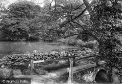 Godstone, Rectory Pond 1907