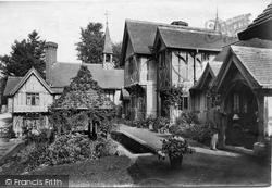 Godstone, St Mary's Almshouses 1909