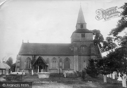 Godstone, St Nicholas Church 1907