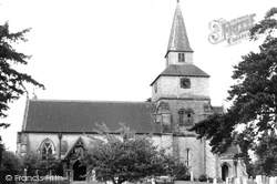Godstone, St Nicholas Church c.1955