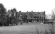 Godstone, Stangrave Hall c1955