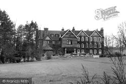 Godstone, Stangrave Hall c.1955