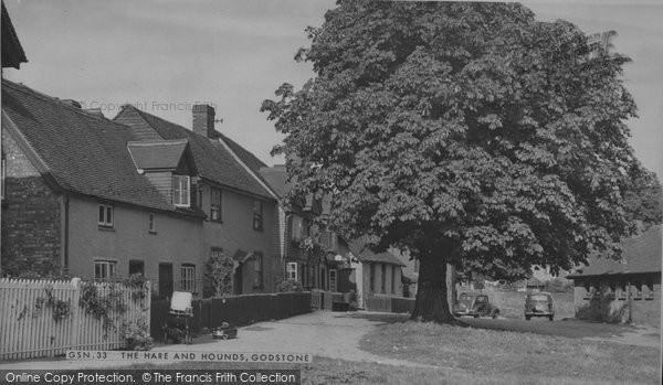 Photo of Godstone, The Hare And Hounds c.1955