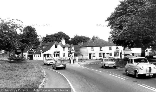 Photo of Godstone, The Triangle 1964