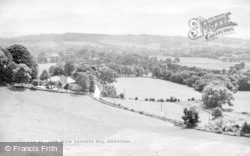 Godstone, View From Gangers Hill c.1955