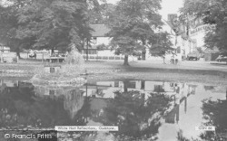 Godstone, White Hart Reflections c.1960