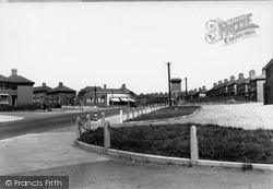 High Street, Sandyford c.1955, Goldenhill