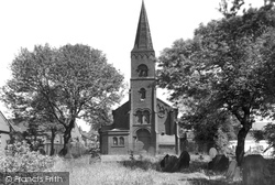 St John's Church c.1955, Goldenhill