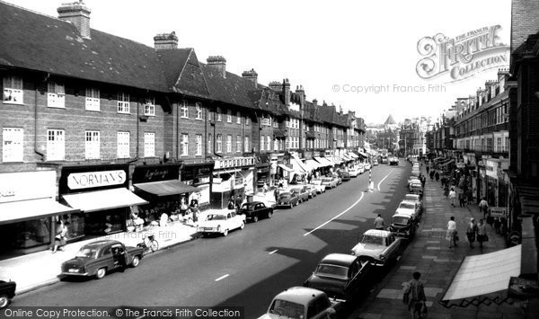 Golders Green, Cheapside, Golders Green Road c1965