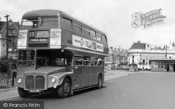 Golders Green, Double Decker Bus c.1960