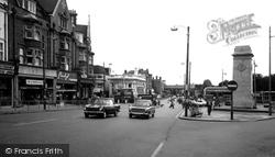 Golders Green, Finchley Road c.1965