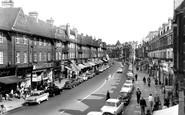 Golders Green, Golders Green Road 1960