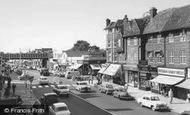 Golders Green, Finchley Road c1955