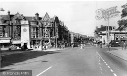 Golders Green, High Street c.1960