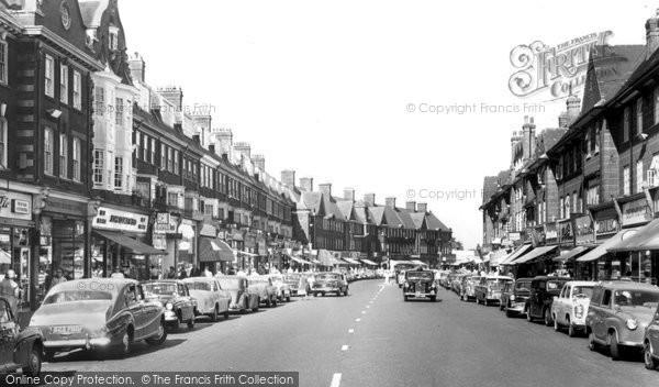 Golders Green, High Street c1965
