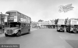 Golders Green, The Bus Station And North End Road c.1960