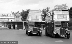 Golders Green, The Bus Station c.1960