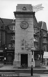 Golders Green, The Memorial c.1965