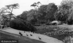 Golders Green, The Pond, Golders Hill Park c.1960