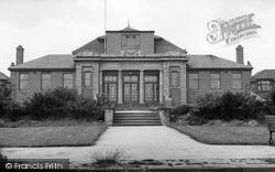 Goldthorpe, The Miners Welfare Hall c.1960