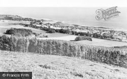 Golspie, And The Moray Firth From Ben Bhraggie c.1960