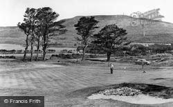 Golspie, Ben Bhraggie From The Golf Course c.1950