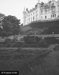 Golspie, Dunrobin Castle From Garden 1954