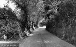 Gomshall, Burrows Lane c.1960