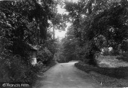 Gomshall, Gravel Pits Corner 1913