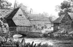Gomshall, Mill 1926
