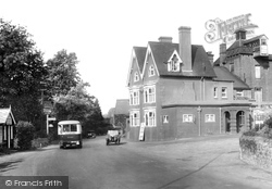 Gomshall, The Black Horse Hotel 1928