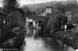 Gomshall, Tillingbourne Stream c.1960