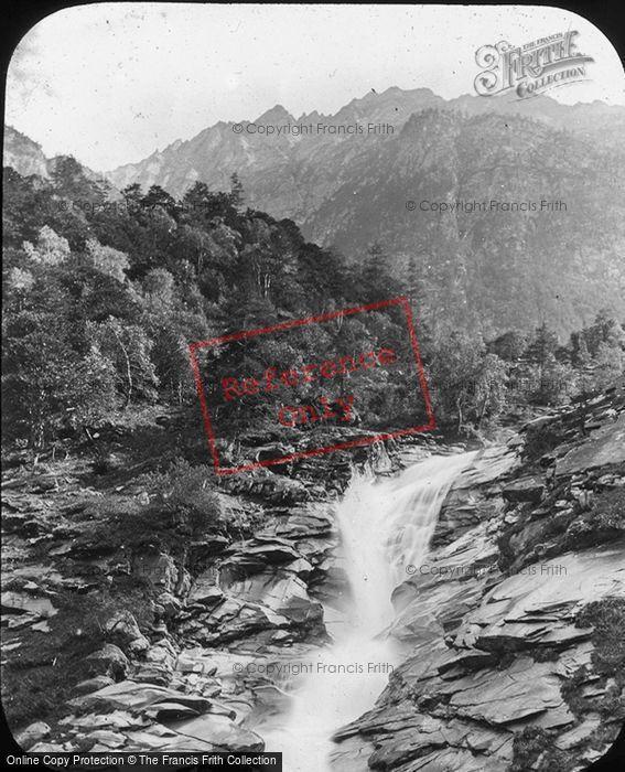 Photo of Gondo, Falls, Simplon Route c.1885
