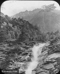 Falls, Simplon Route c.1885, Gondo