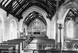 Goodleigh, Church Interior 1894