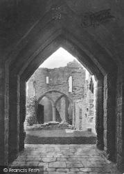 Goodrich, Castle Entrance 1931