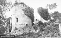 Goodrich, Castle, Round Tower 1893