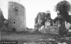 Goodrich, Castle, The Keep 1893