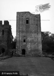 Goodrich, Castle, The Keep 1955